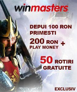 winmasters casino oferta rotiri