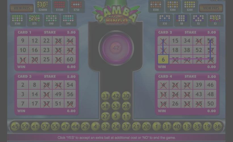 Samba-Bingo