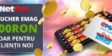 Netbet Emag Voucher 100 RON