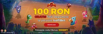 100 RON Gratis Isoftbet pe Maxbet